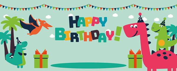Fødselsdags Banner med Eget Design