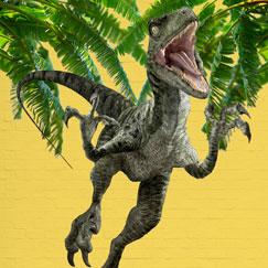 Dinosaur Papfigurer