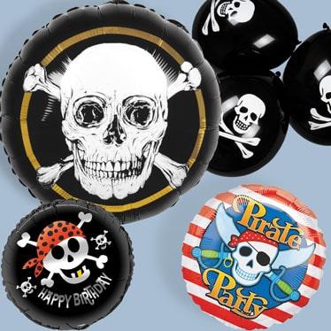 Pirat Sørøver Tema Balloner