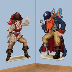 Pirat Sørøver Vægdekorationer