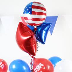 USA Tema Balloner og Tilbehør
