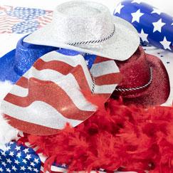 USA Tema Masker, Hatte og Kostumer