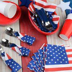 USA Borddækning og Servering
