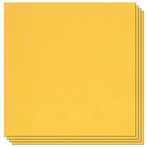 Sunflower Yellow Luncheon Napkins 33cm 2Ply - Pack of 20