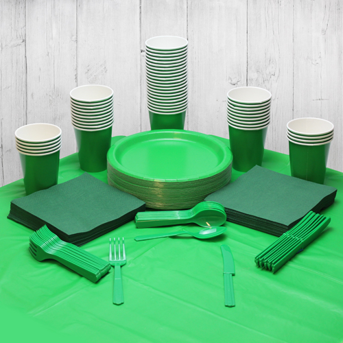 Green 56 Person Party Pack