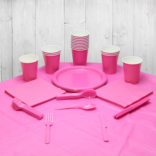 Hot Pink 14 Person Party Pack