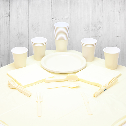 Ivory 14 Person Party Pack