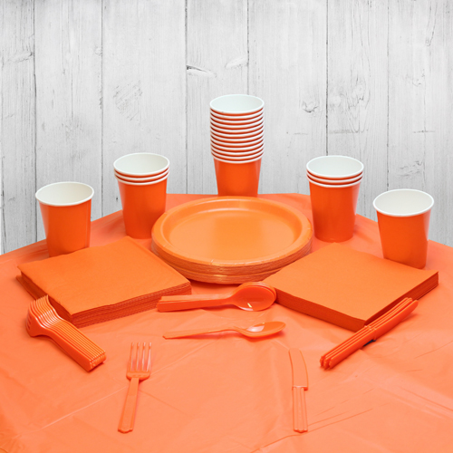 Orange 14 Person Party Pack
