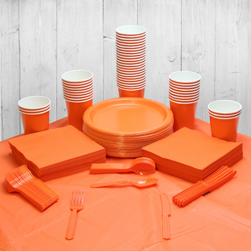 Orange 56 Person Party Pack