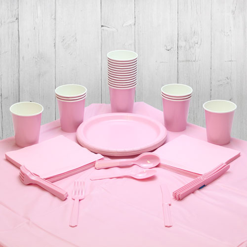 Pink 14 Person Party Pack