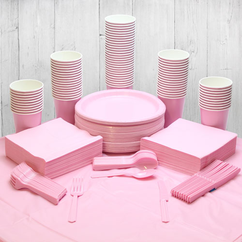 Pink 98 Person Party Pack