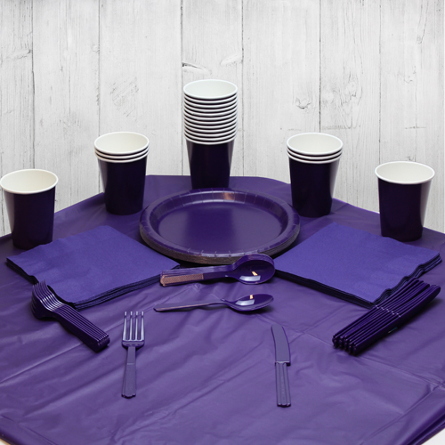 Purple 14 Person Party Pack