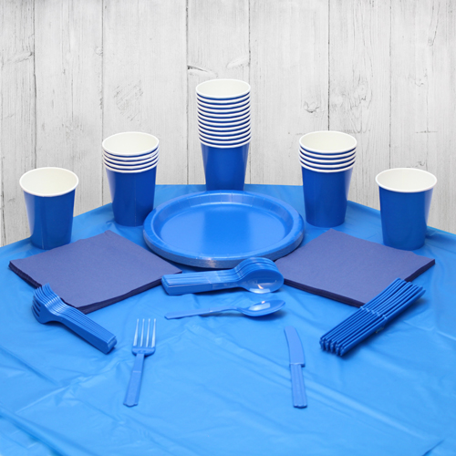 Royal Blue 14 Person Party Pack