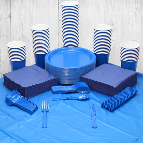 Royal Blue 98 Person Party Pack