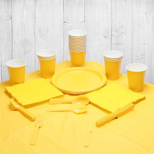 Yellow 14 Person Party Pack