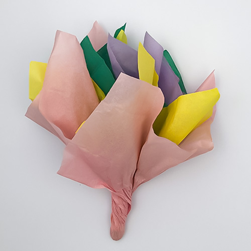 Assorted Pastel Colours Tissue Gift Paper - Pack of 10